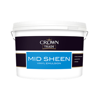 Crown Trade Mid Sheen Vinyl Emulsion