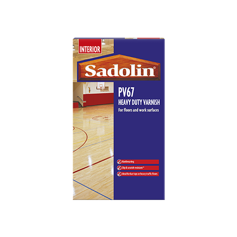 Sadolin PV67 Heavy Duty Varnish Satin