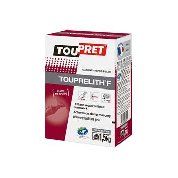 TOUPRET TOUPRELITH F MASONRY REPAIR FILLER POWDER